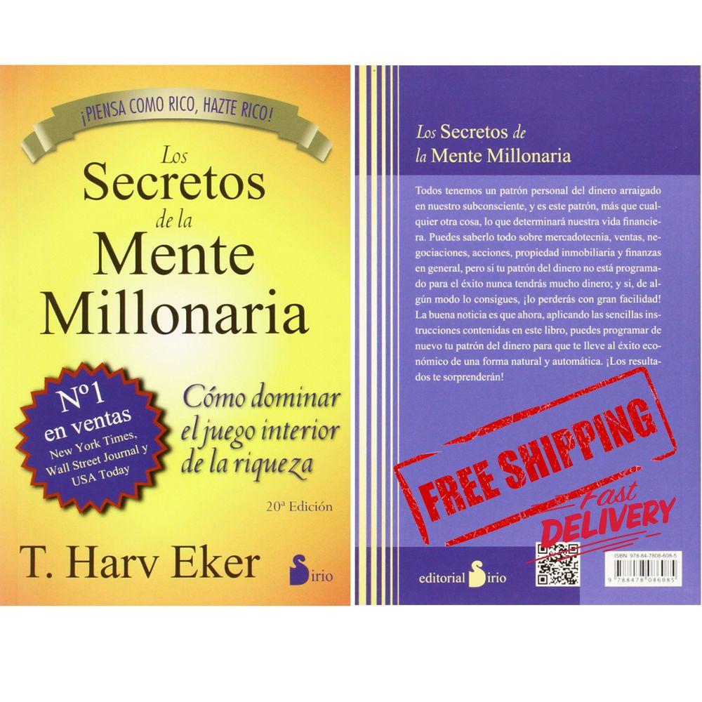 Details about new los secretos de la mente millonaria paperback nov 2011 patron del dinero