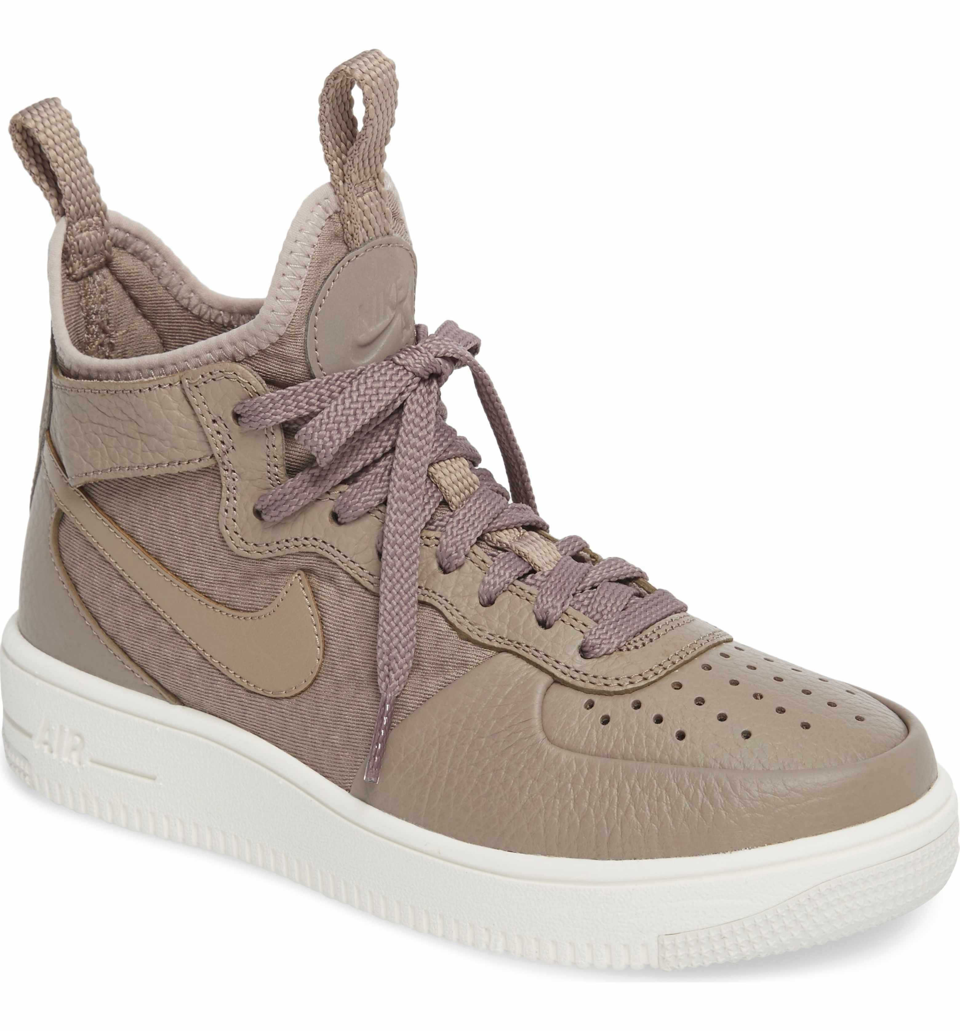 Nike Leather Air Force 1 Ultraforce Mid Force Is Female