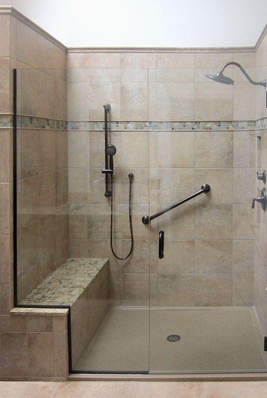 Image result for large shower tile on bench seat