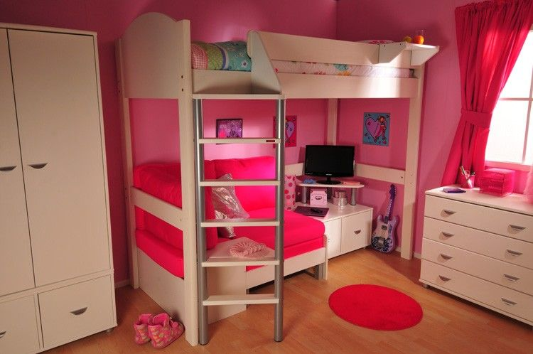 f75bcf8d63d9 Stompa Casa High Sleeper Bed for children - I like the seating area  underneath