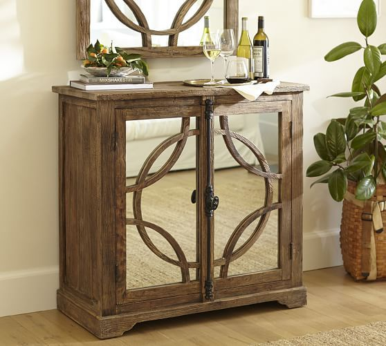 teagan bar cabinet pottery barn