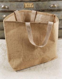 Large 24 Burlap Tote Bag Cotton Lining Polynesian Luau