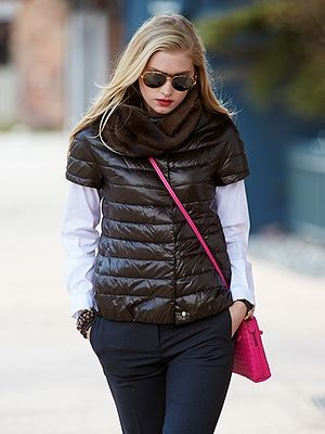 2b7177d98 Herno down jacket - short sleeve Kayla Vest | style file in 2019 ...