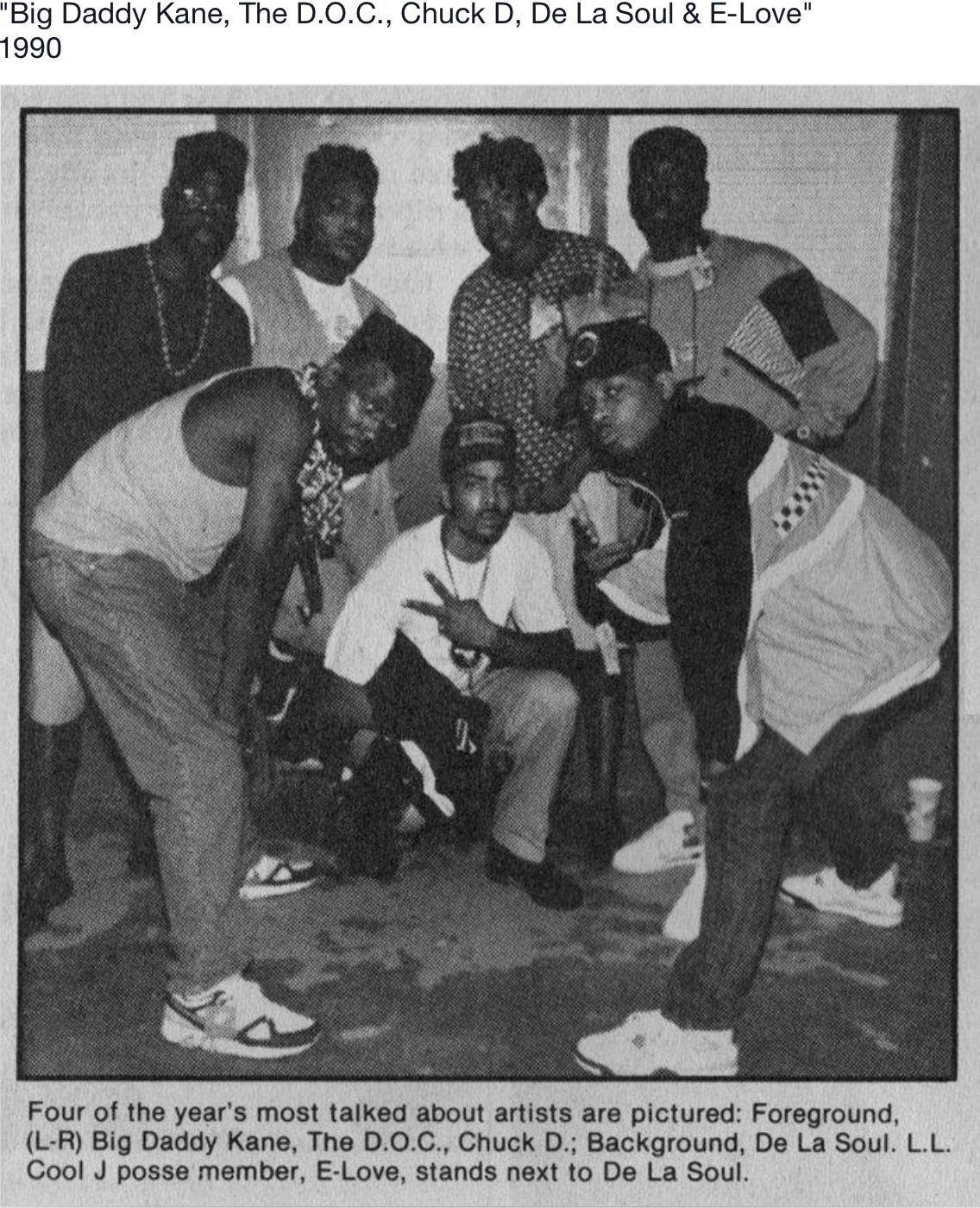 Old School Hip Hop Love Hip Big Daddy Kane