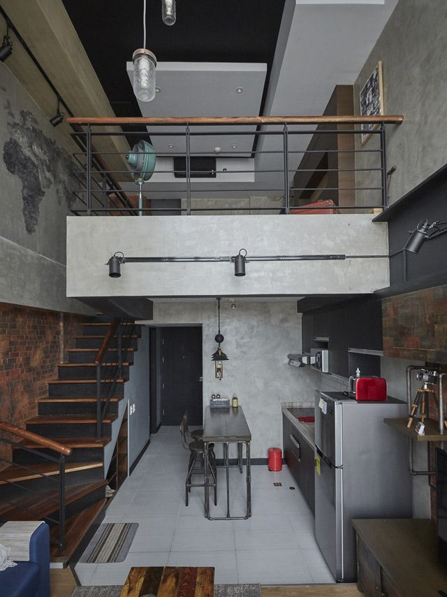 This Loft-Type Condo is the Industrial Home of Your Dreams
