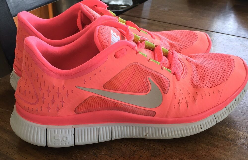 outlet store 49aae f5e11 NIKE WOMENS FREE RUN+ 3 RUNNING SHOES 510643 Sz 9  eBay