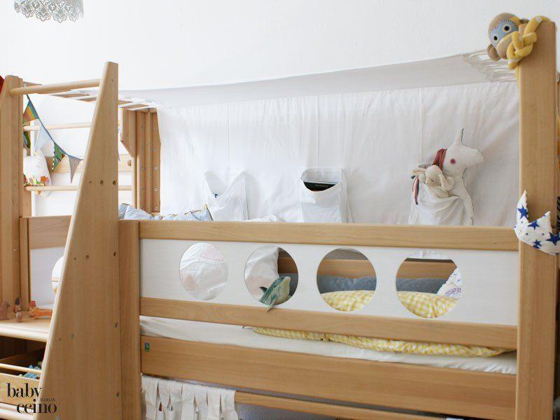 Etagenbett Piratenbett : Piratenbett von de breuyn hochbett in buche unbehandelt