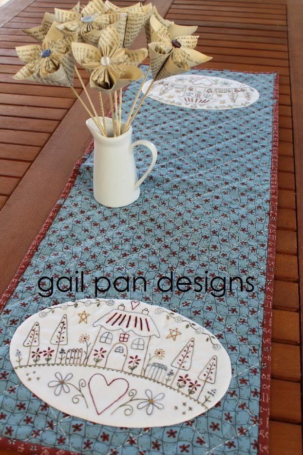 My Country Home - Gail Pan Designs | Gail pan designs | Pinterest