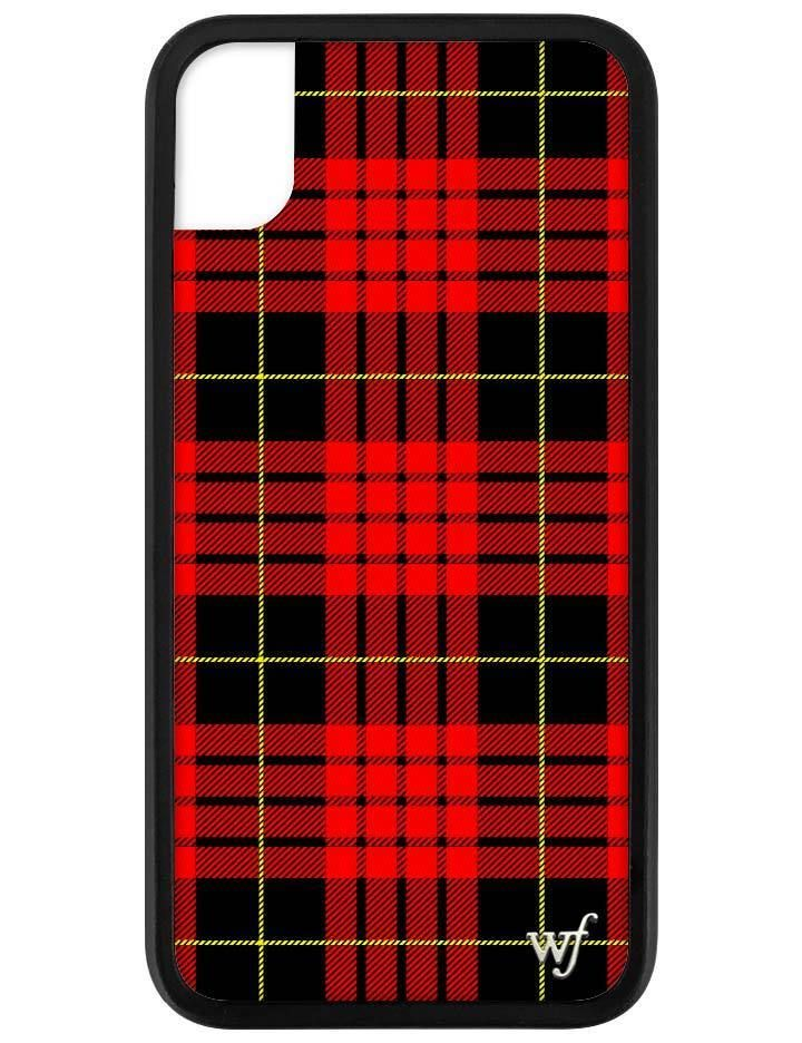 Red Plaid Iphone Xr Case Iphonexr Wildflower Phone Cases