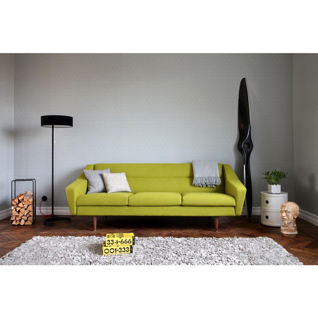 design couch 3 sitzer skandinavisch