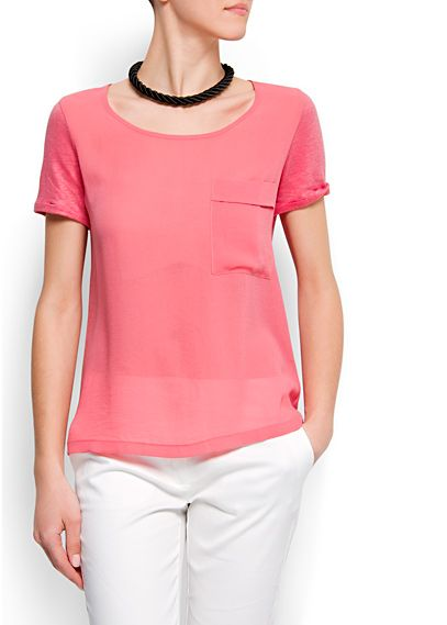 This top would be great for work too