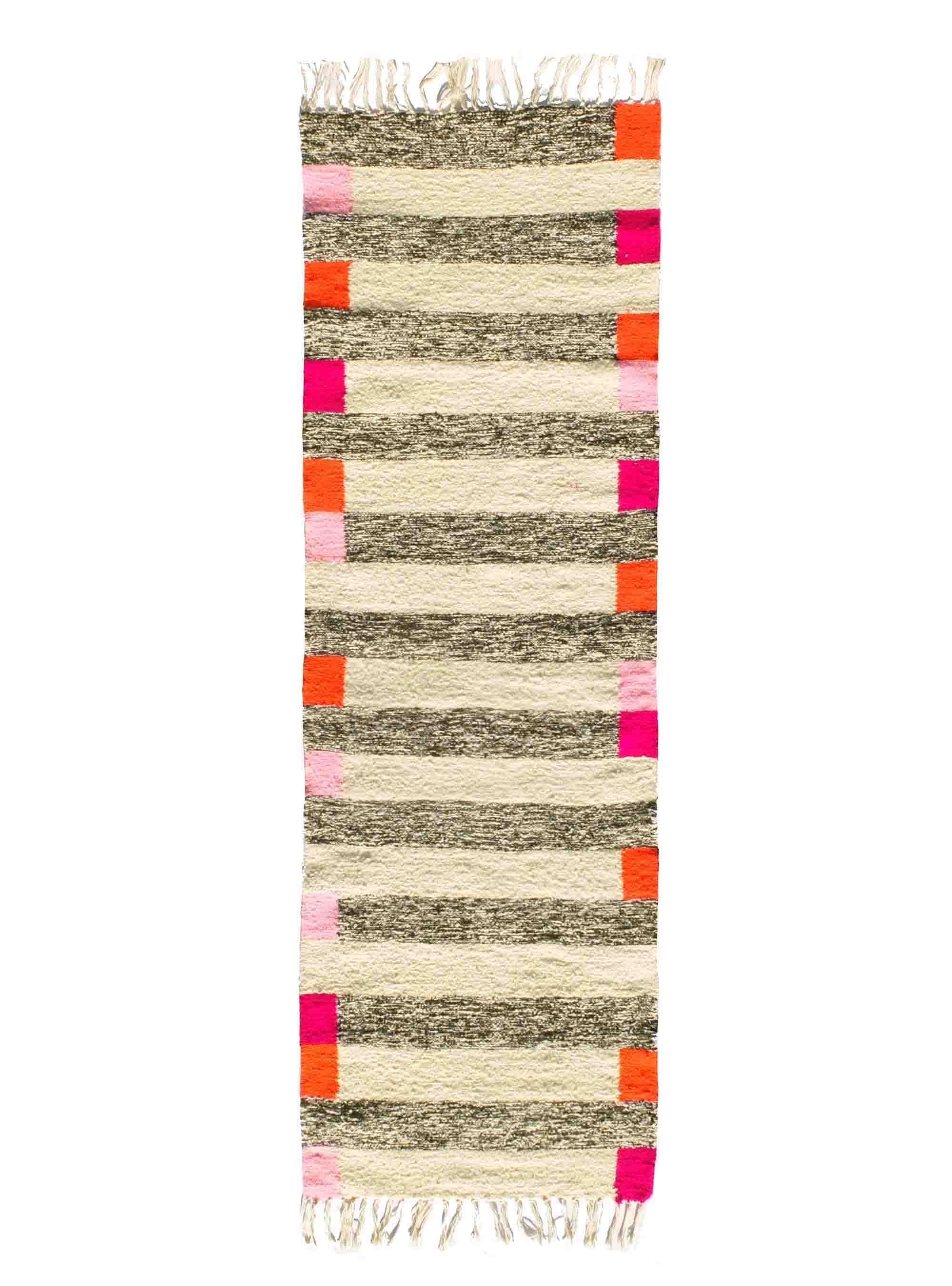 kira-cph handwoven runnerrug. Wool, 70x220 cm. www.kira-cph.com