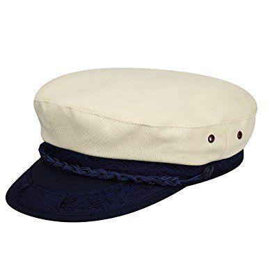 5d6b3b0bb4738 Country Gentleman Men s Canvas Greek Fisherman Cap Hat Review