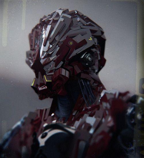 #robot #scifi #cyborg