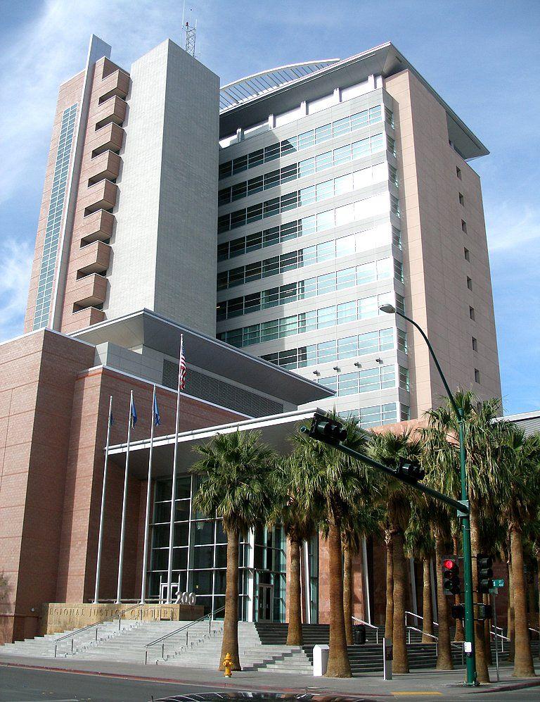 Las Vegas Justice Court >> Clark County Regional Justice Center 200 Lewis Avenue Las