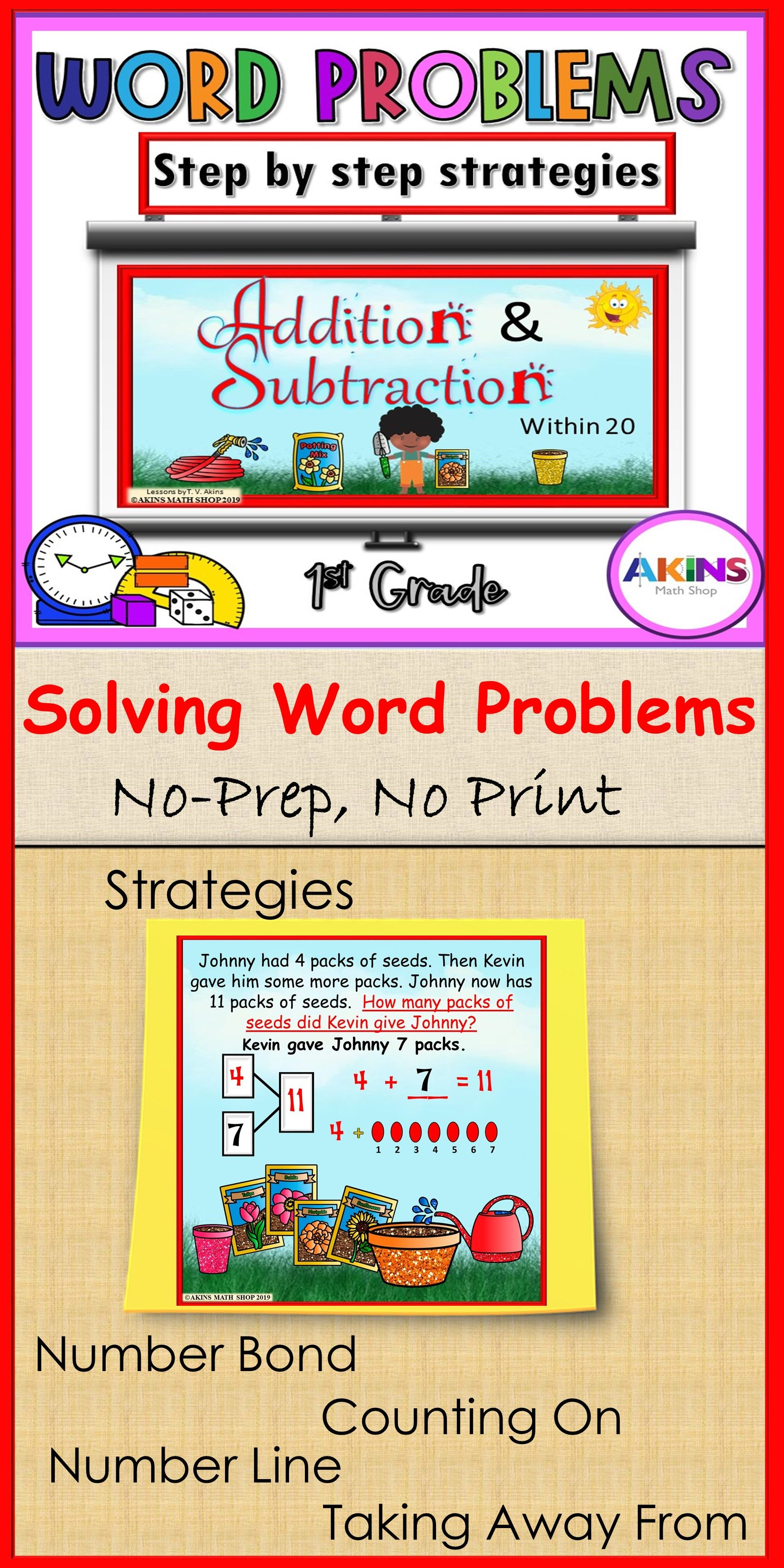Addition And Subtraction Word Problems Distance Learning Subtraction Word Problems Addition And Subtraction Word Problems Problem solving involving adding and