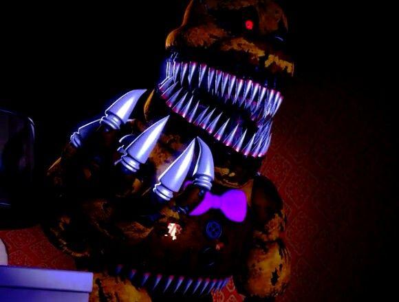 Nightmare Fredbear!