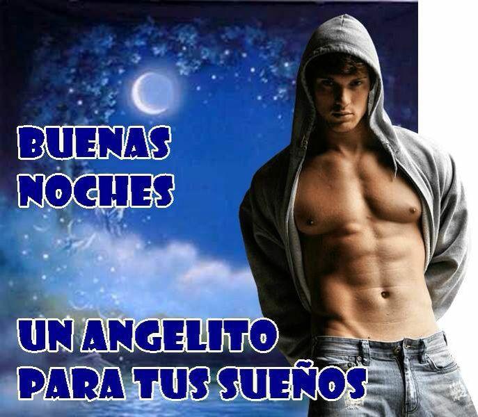 Buena Noches Un Angelito Para Sonar Buenas Noches Buenas Noches Guapo Noche