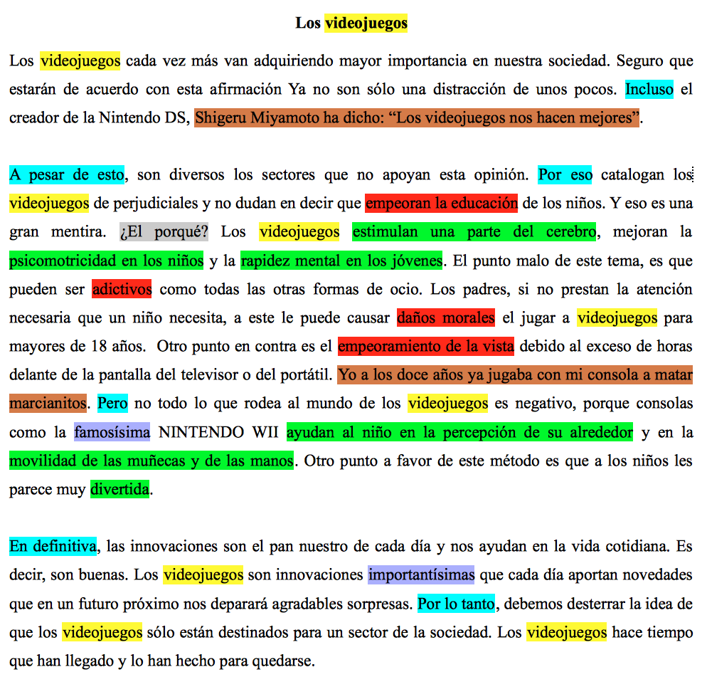Ejemplo De Texto Argumentativo Con Una Tesis Texto Argumentativo Comentario De Texto Ejemplo De Texto Expositivo