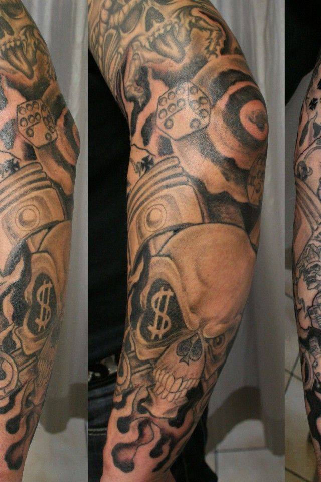 Forearm Tattoos Sleeve Ideas | Cool Tattoos Designs | Forearm Half ...
