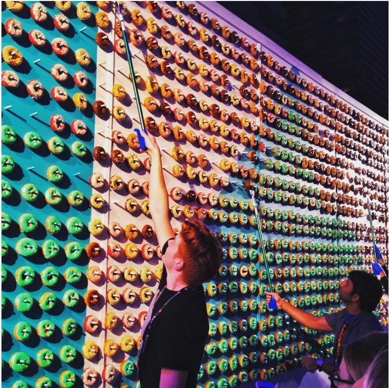 Image result for donut wall | Donut Wall Inspiration ...
