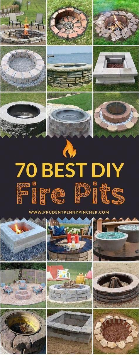 Photo of 70 Best DIY Fire Pits