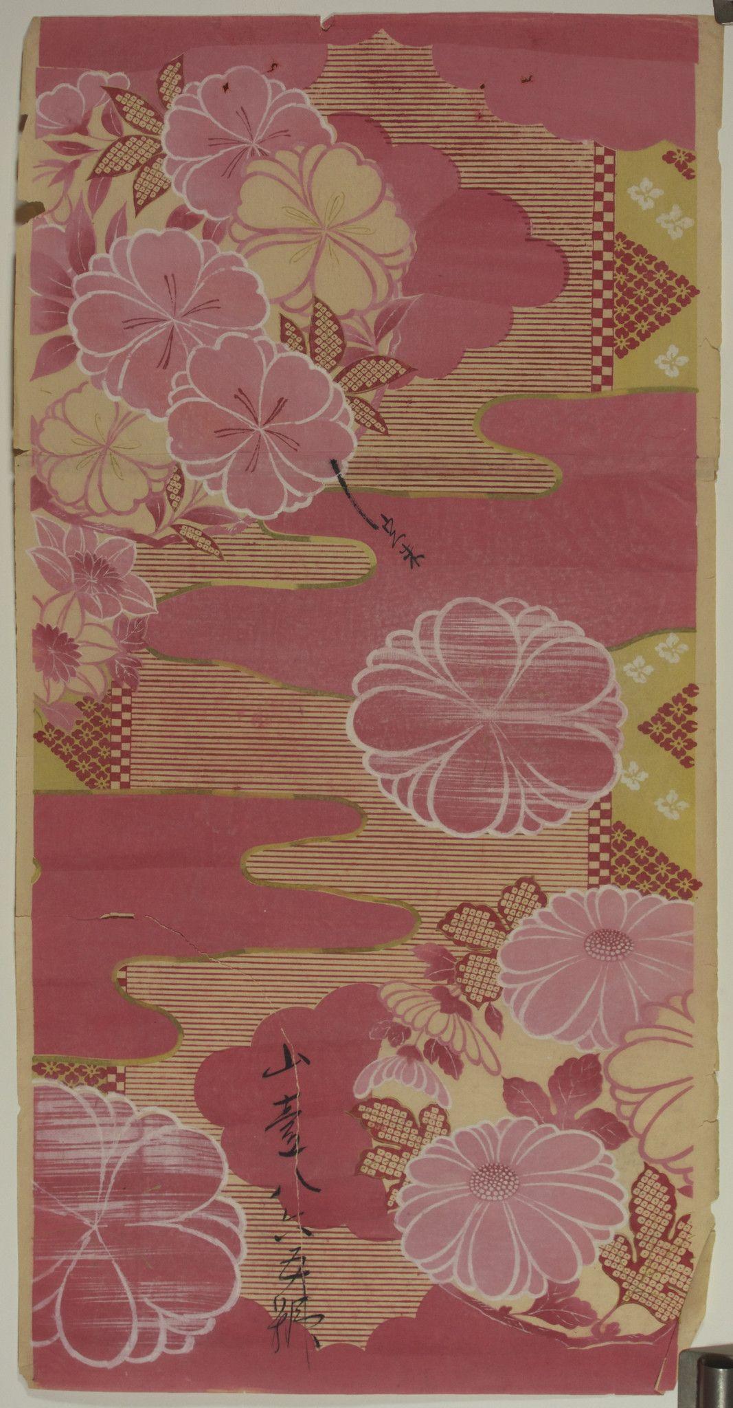 Japanese Textile Design                                                                                                                                                                                 Más