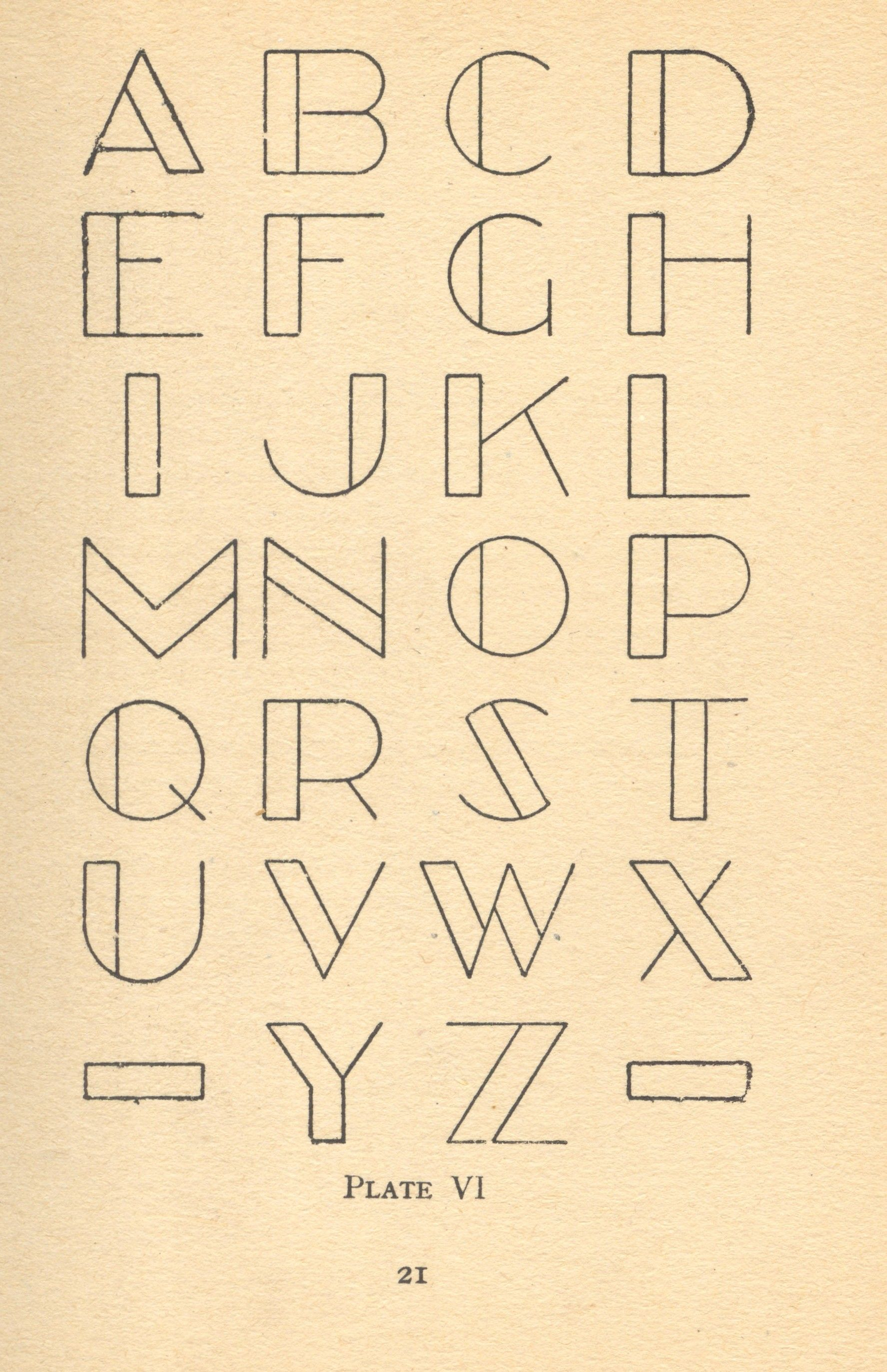 Awesome Application Of The Typeface More