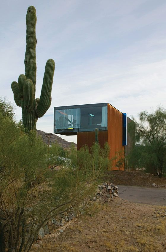 Xeros Residence . Phoenix .  by blank studio architecture; photo by Bill Timmerman