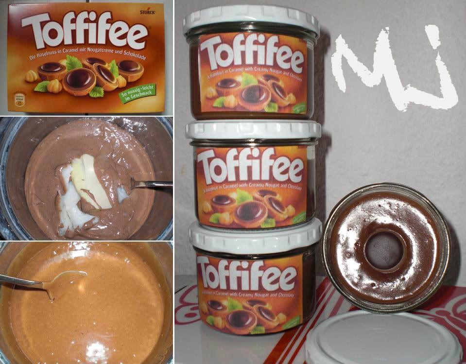 Toffifee Creme Aufstrich Basteln Pinterest Toffifee - geschenke aus der küche rezepte