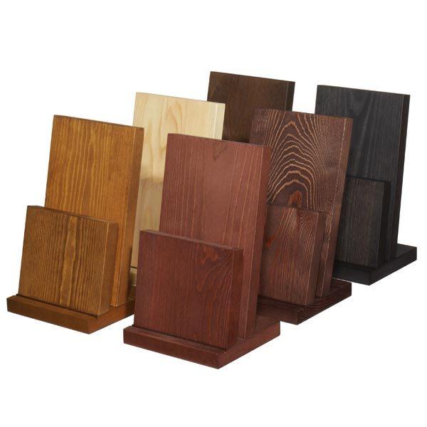 Wooden Menu Holder H Mh201 Menu Designs Menu Holders Brochure