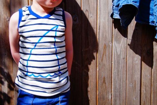 Shark tank by huisje boompje boefjes | Project | Sewing / Shirts, Tanks, & Tops | Kids & Baby | Kollabora