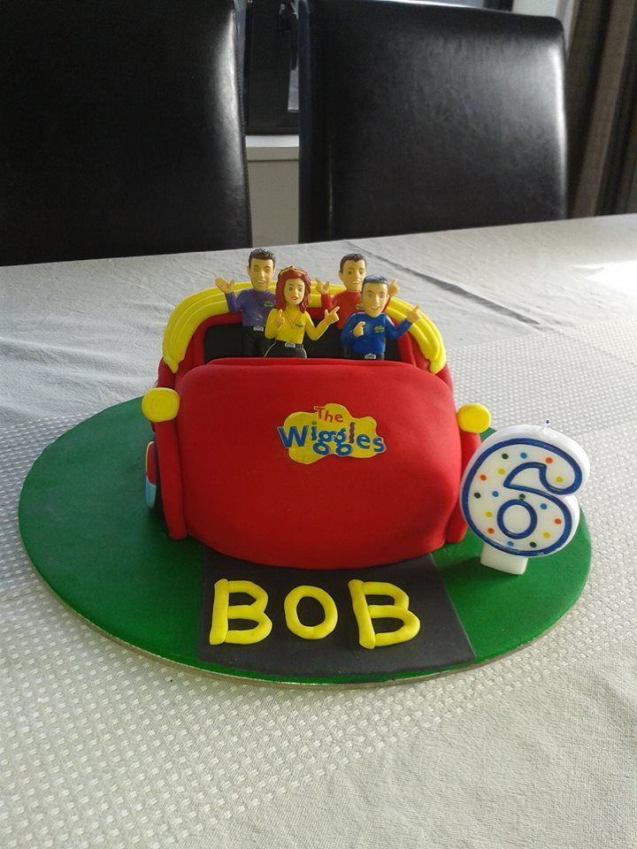 Happy Birthday Bob This Big Red Car cake looks incredible