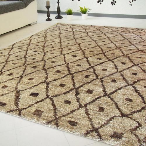 Morocco Alfombra de yute con diseños marroquíesJute Carpet with
