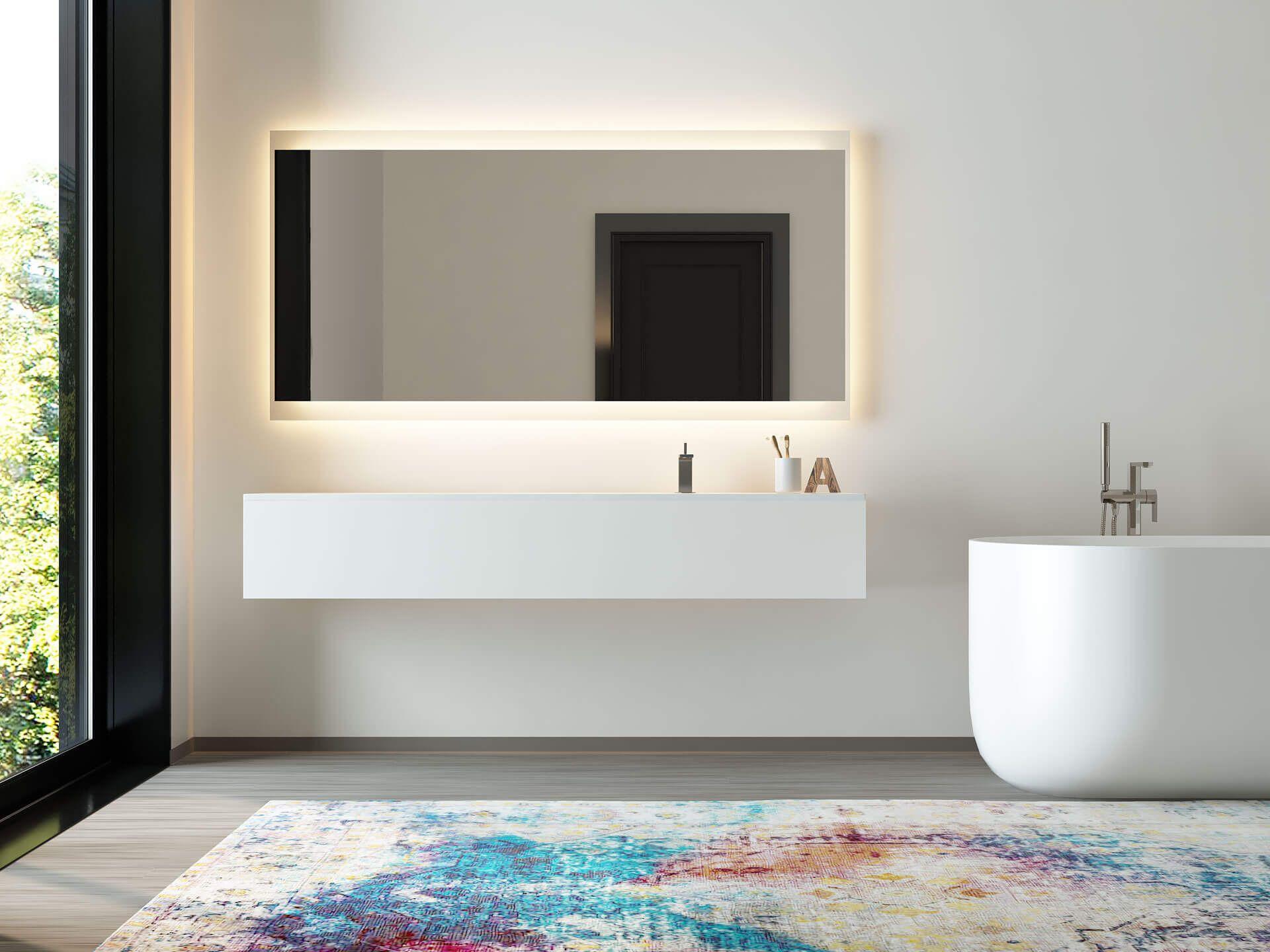 Pin Von Dagmar Prainer Auf Badezimmer Mit Bildern Badspiegel