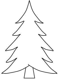 Coloring Pages Of Pine Trees