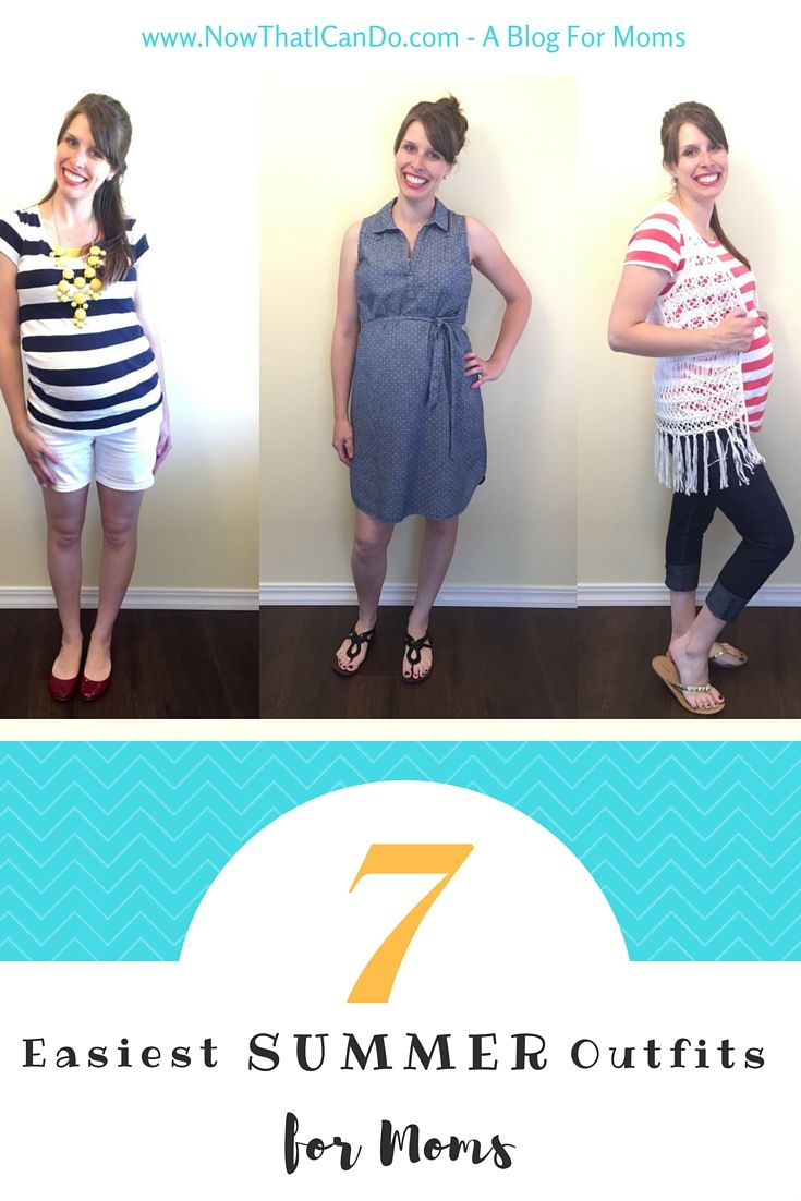 easiest summer outfits for moms accompanying hair styles