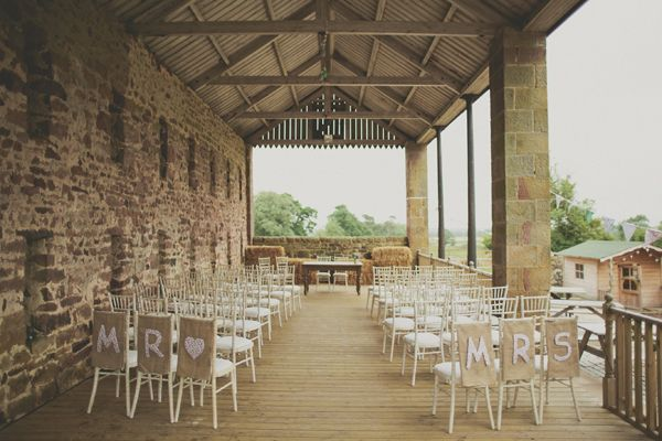Rustic DIY Budget Barn Wedding