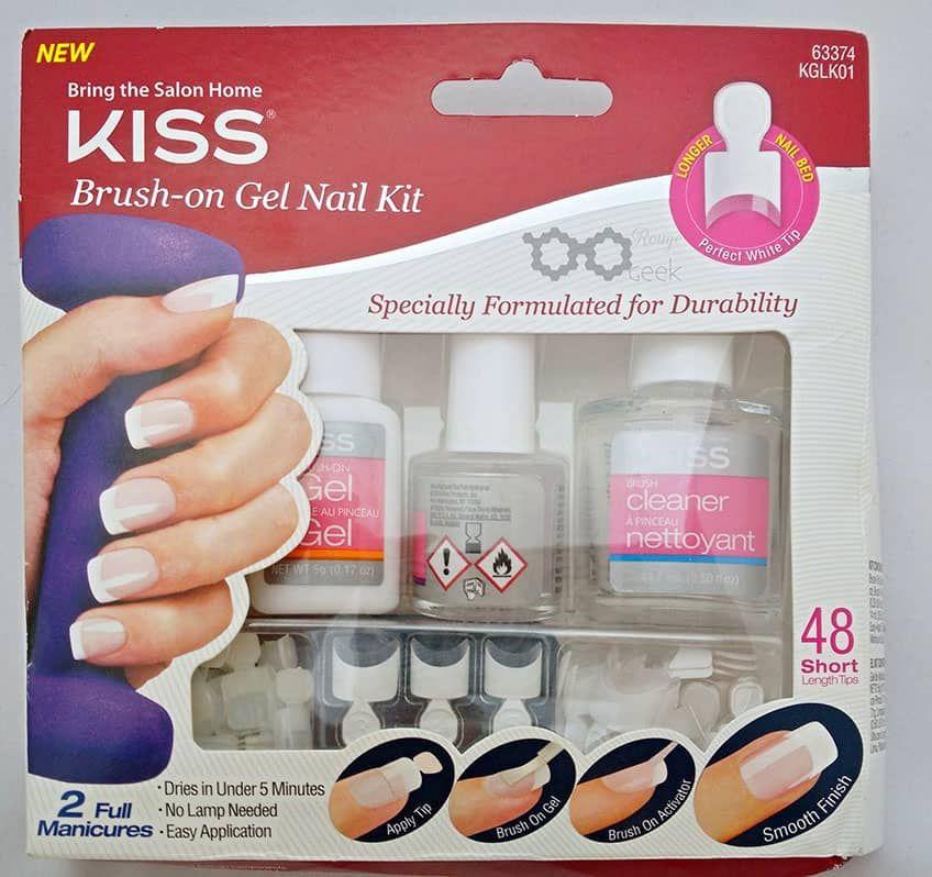 Kiss Brush-On Gel Nail Kit INSTRUCTIONS https://www.facebook.com ...
