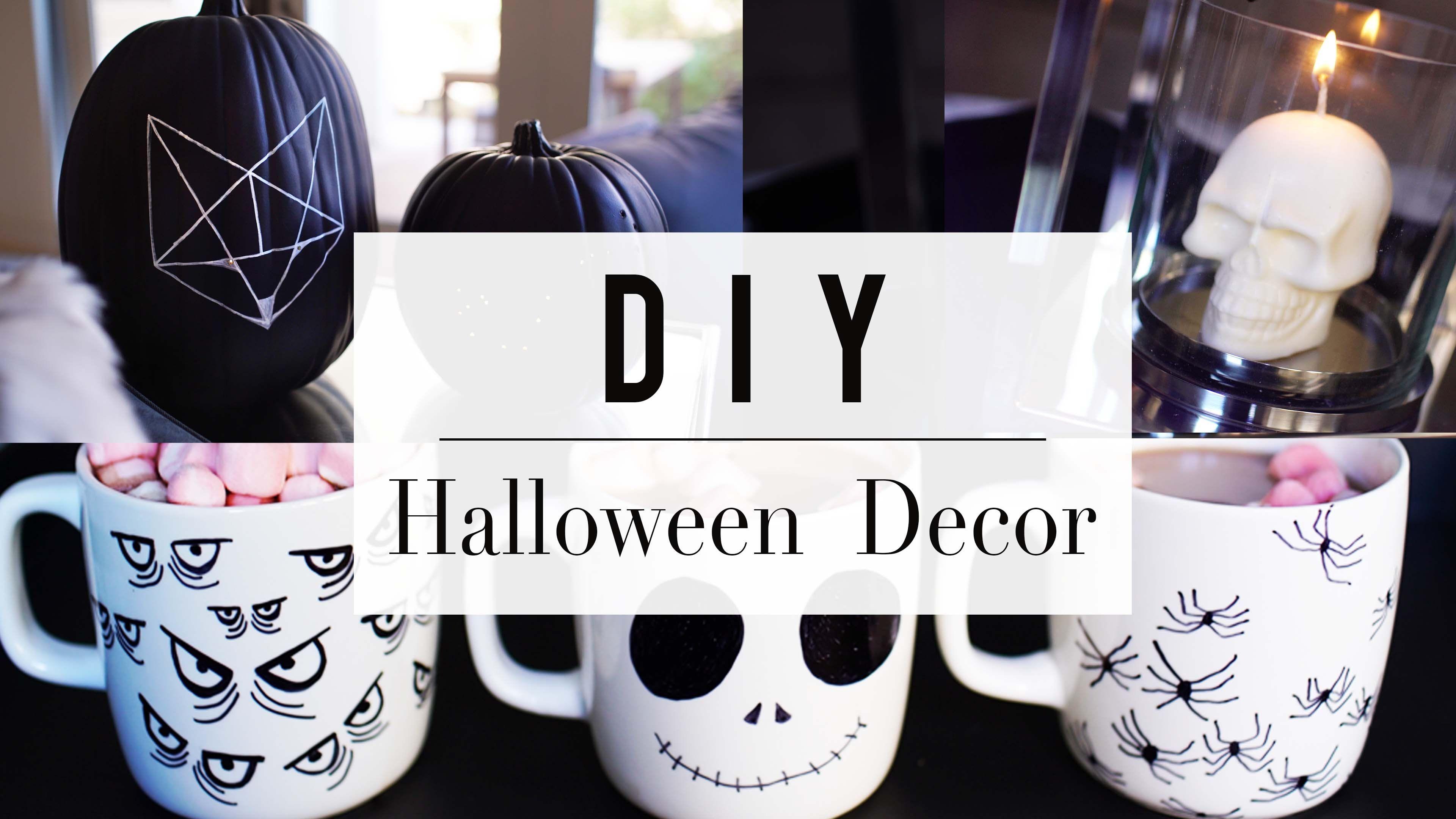 Hey guys! Halloween is right around the corner and I have 3 great Halloween DIYs…