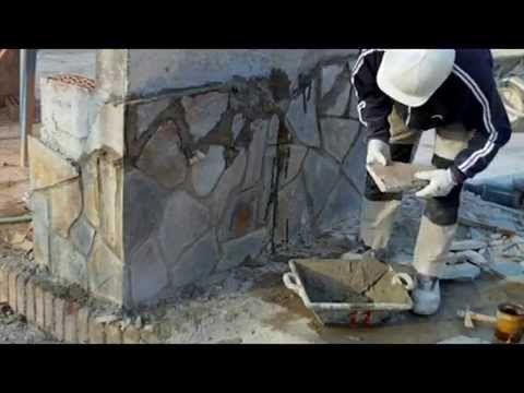 Revestir pared con piedra 2 ideas para la casa de pueblo - Revestir pared exterior ...