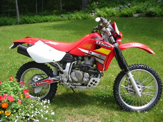 2001 Honda Xr650r With Baja Designs Dual Sport Kit