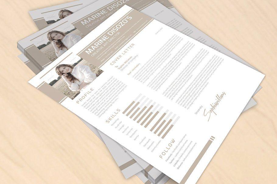 Clean resume template in 2020 clean resume template