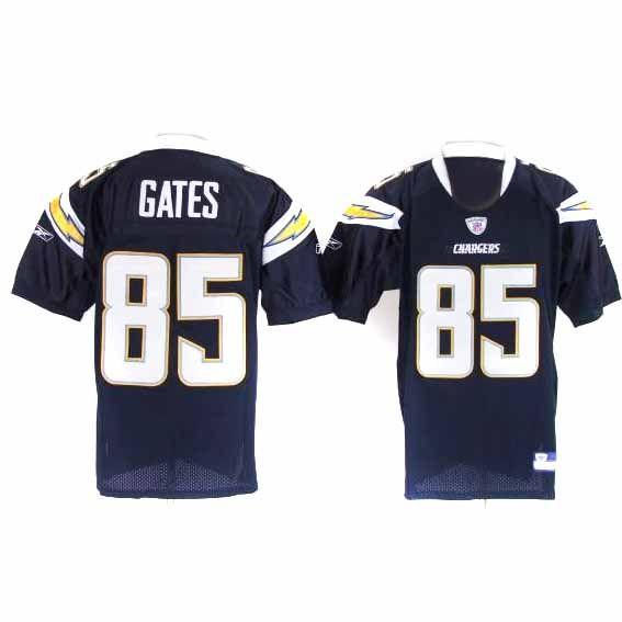 best website 64b6d 2ac28 85 Antonio Gates Navy San Diego Chargers NFL Jersey ID ...