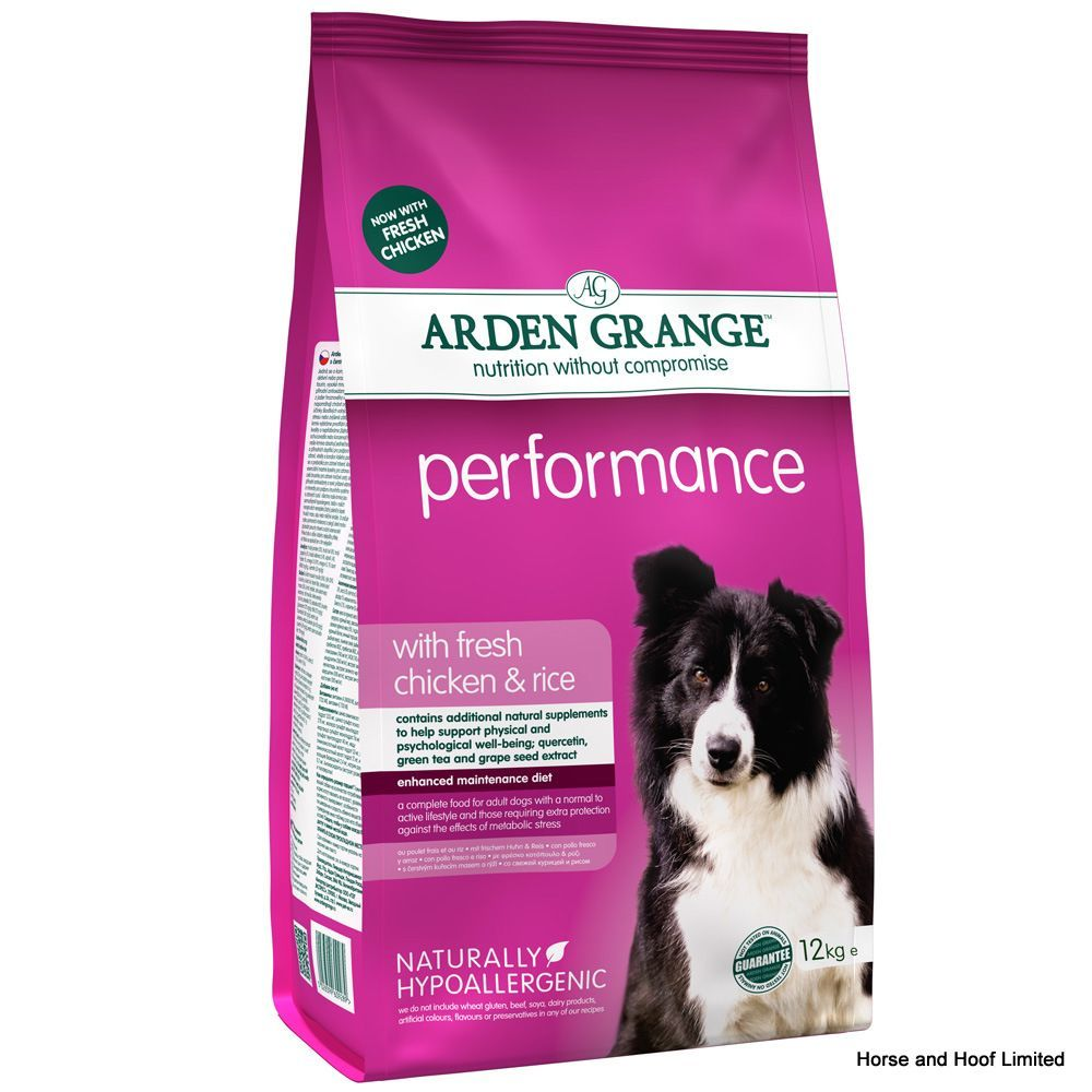 Arden Grange Chicken Rice Performance Dog Food Dry Dog Food