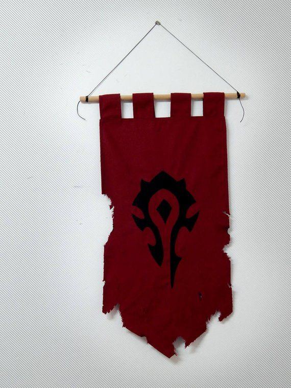 buy popular f29ce 44672 Horde Banner World of Warcraft - home decor wow  lion banner ... 1023a528890