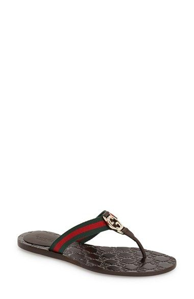 4fd603c37f5 Gucci  GG  Logo Sandal available at  Nordstrom