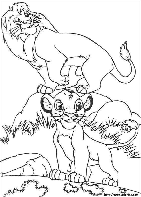 Coloriage Roi Lion Coloring Pages Coloring Pages Disney
