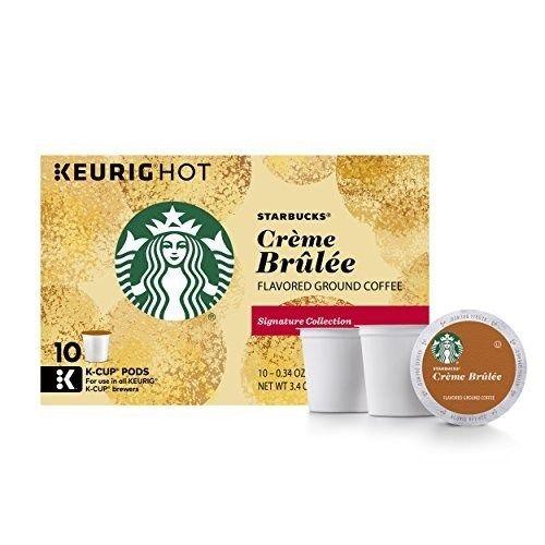 Starbucks Crème Brulée Flavored Blonde Light Roast Single