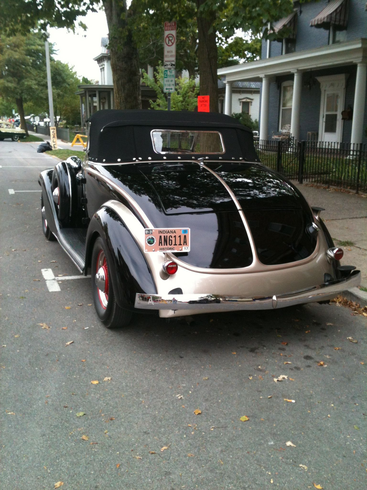 From car show in Auburn In. Black beauty. | Old Cars | Pinterest ...